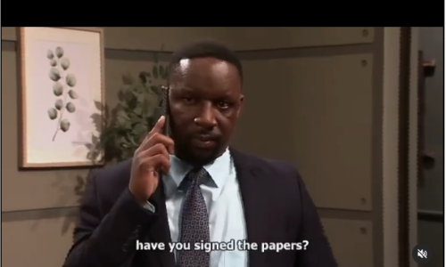 Tenda from Muvhango is in trouble, click here.